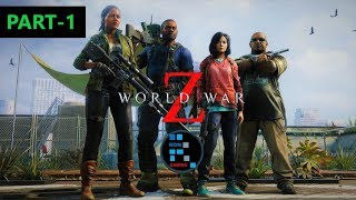 WORLD WAR Z EPISODE 1: NEW YORK | CHAPTER 1&2, SO MANY ZOMBIES ATTACKED US