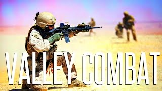 DESERT VALLEY COMBAT! - ArmA 3 Gameplay