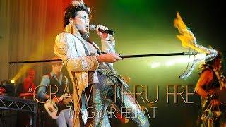 Adam Lambert - Crawl Thru Fire beveztő + magyar szöveg [The Zodiac Show fellépés, 2008]