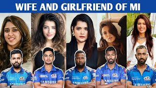 Beautiful Wives and Girlfriend of Mumbai Indians Players | IPL Players Wives of MI | IPL 2021