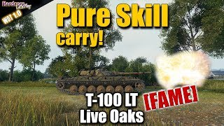WOT: T-100 LT, Dakota_Is_Beast [FAME] pure skill carry, WORLD OF TANKS