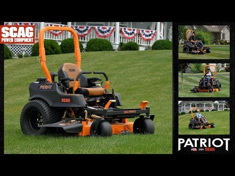 2021 SCAG Power Equipment Patriot 52 in. Kawasaki 22 hp in Francis Creek, Wisconsin - Video 1