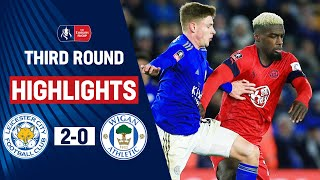 Barnes Seals Foxes Place In Fourth Round | Leicester City 2-0 Wigan Athletic | Emirates FA Cup 19/20