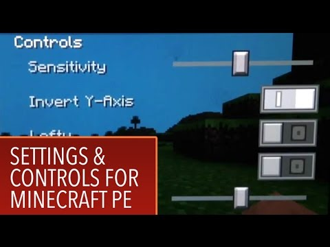 Minecraft PE: 5: Settings and Controls