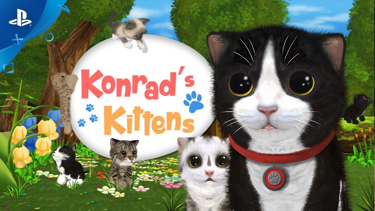 Konrad the Kitten Upgrades Kitten Count, Out Tomorrow on PS VR