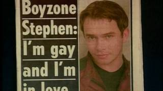 A look back at the life of Boyzone star Stephen Gately