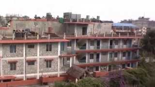 preview picture of video 'View from rooftop in Pokhara, Nepal'