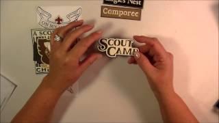 Cricut Explore Project - Boy Scout Embellishments