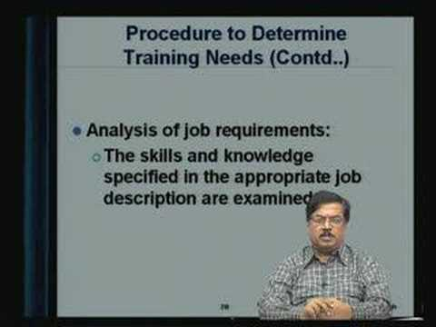 Lecture - 24 Training and Development - I - YouTube