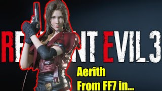 Aerith Saves Racoon City FF7 Resident Evil 3 Mod PC