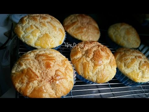 Video Resep Roti Polo pau,Pineapple buns.