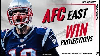 Win projections: AFC East | PFF