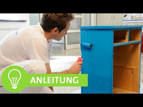 Möbel neu gestalten & renovieren: Möbel lackieren, Kommode lackieren Tipps!