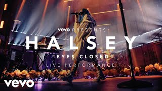 Music video by Halsey performing Eyes Closed (Vevo Presents). 2017 On Thursday, June 1, at the MacArthur in L.A., Halsey gave the first full performance of t...