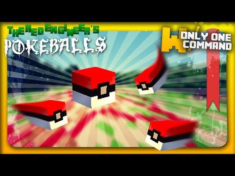 Pokéballs & Pokétraps with only one command block Minecraft Project
