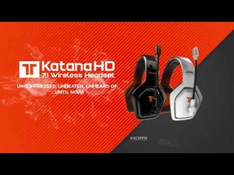 Видео № 0 из игры Беспроводная игровая стерео гарнитура Tritton Katana HD 7.1 (Б/У)