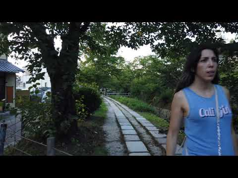 4K Nature Walk : The Philosopher's Path (Binaural Sound) 哲学の道 / 京都 Kyoto, 日本 Japan Walk 173