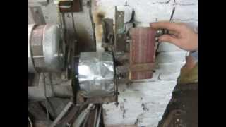Мини гриндер, на основе движка от стиральной машины, своими руками