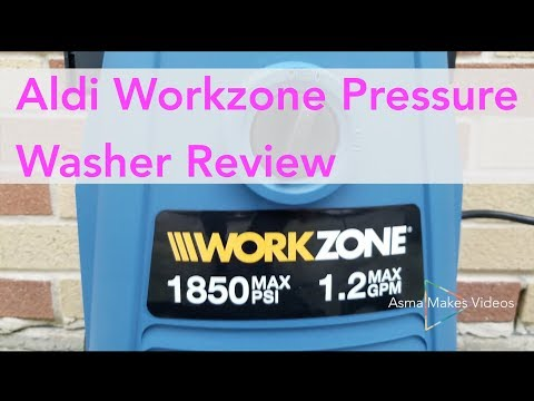 Aldi Workzone 1850 PSI Electric Pressure Washer Review