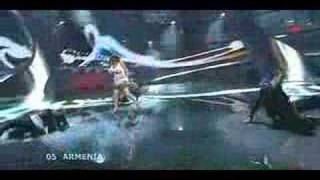 Eurovision Final 2008: Sirusho - Qele Qele (360p - HQ) + Lyrics