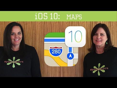 iOS 10 – Maps App