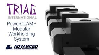 TRIAG PowerCLAMP Modular Workholding System