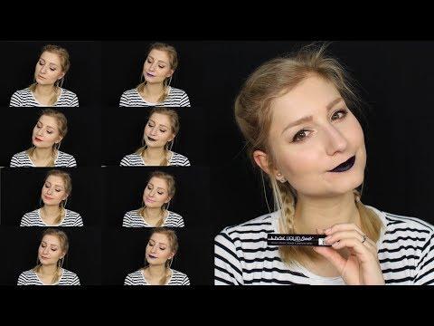 Lip Swatch ♥ Nyx Liquid Suede