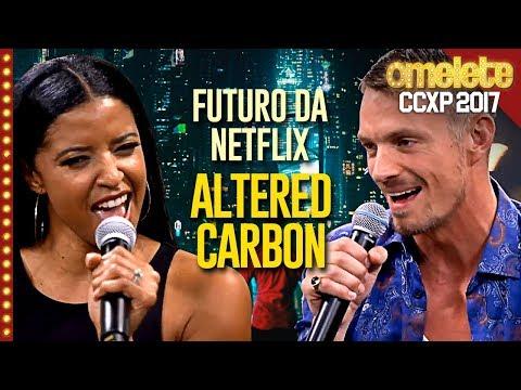 O futuro da Netflix é Altered Carbon | CCXP 17