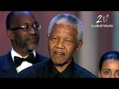 VIDEO – 20th Laureus: Serena, Ronaldo, Bolt, Federer, Others Speak As Mandela's Powerful Speech Resonates
