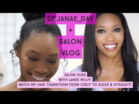 STRAIGHTENING MY HAIR! | Keratin Treatment For Natural Hair | Salon Vlog Mp3