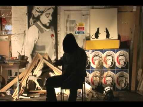 Banksy's graffiti art