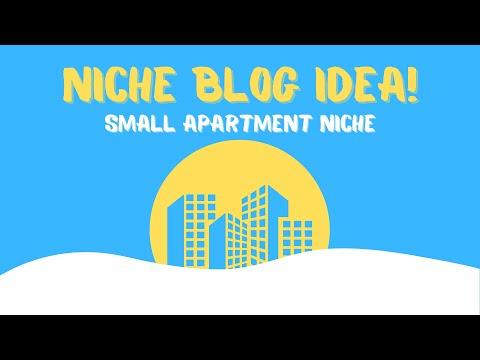 [Niche Blog Idea] Small Apartment Niche for Affiliate Marketing