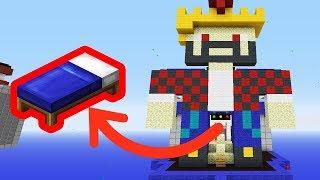 ГИГАНТСКИЙ АИД ЗАЩИЩАЕТ МОЮ КРОВАТЬ НА БЕДВАРСЕ! Minecraft Bed Wars