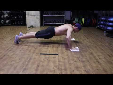 Push-Up Flys with Hand Towel
