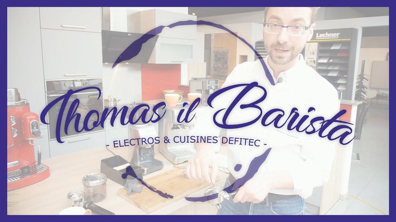 Expresso et Cappuccino, avec la Caffespresso SOLIS 117 - Thomas il Barista