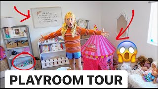 EVERLEIGH'S NEW OFFICIAL PLAYROOM TOUR!!! *ALL MY TOYS*