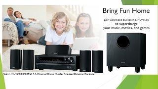 Onkyo HT-S3500 660 Watt 5.1-Channel Home Theater Speaker / Receiver Package