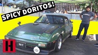 Spicy Doritos and Rare Wheels, A Build & Battle Street Tour!