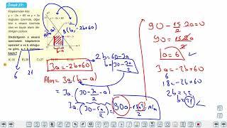 Eğitim Vadisi AYT Matematik 20.Föy Maksimum Minimum Problemleri 4 Konu Anlatım Videoları