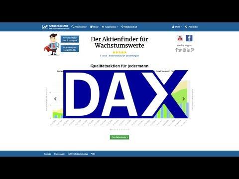 Dax eroffnung traden