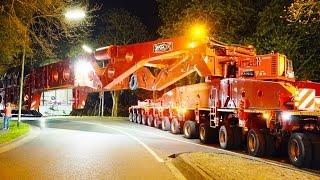 Heavy Transport - 600 Tons get stuck   High Girder Bridge