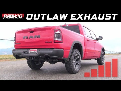 2019*-20 (*New body) RAM 1500 trucks - Outlaw Cat-back Exhaust System 817936