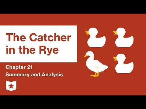 an overview of the value of perspective in catcher in the rye by j d salinger Jd salinger, the author of the novel,  small school, big value:  the catcher in the rye chapter 9: summary & quotes.