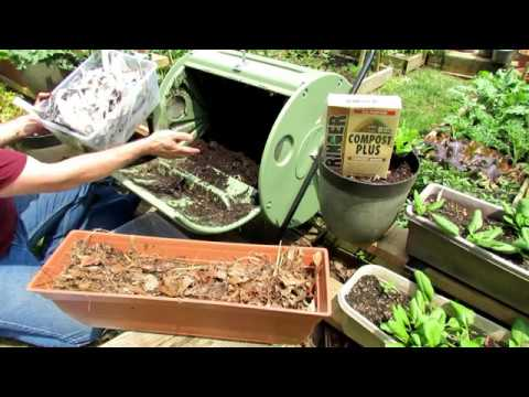 How to Make Free Hot 'Coffee' Compost Using a Compost Tumbler: The Carbon:Nitrogen Ratio Explained