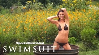 Kate Bock Goes Topless On A Sunny Farm | Outtakes | Sports Illustrated Swimsuit