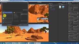 [KM Unity VR 教學] 01_Scene & Shooting  Settings 環境設定與開槍特效