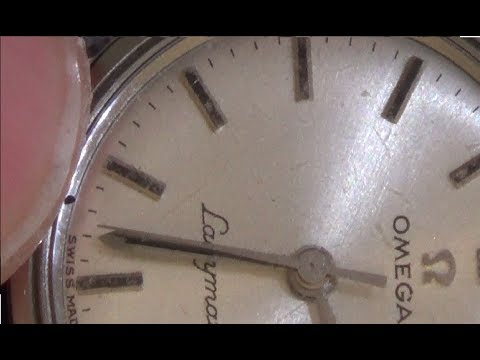 Trying to FIX a 1964 Omega Watch with Dirt on the Dial