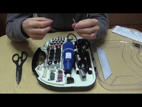 Nuovo acquisto per il fai da te: La mini smerigliatrice ( Dremel ) e Set accessori