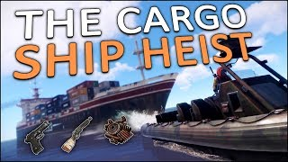 TAKING OVER the CARGO SHIP! - Rust Solo #4