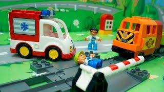 Мультики для детей с игрушками - Игры на железной дороге.